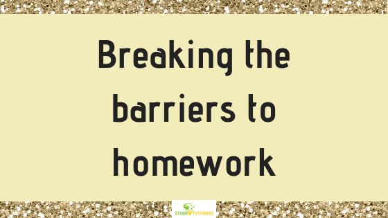 Breaking the barriers to homework